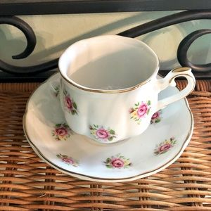 Extra Touch by FTD - Tea Cup & Saucer Rose Pattern